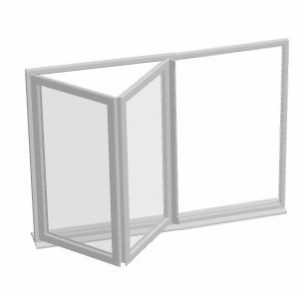 TwoDoor - fold left
